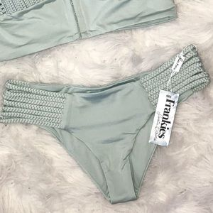 NWT Frankie's Bikinis Valentina Bottom
